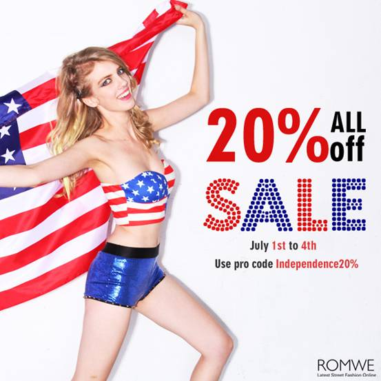 Independence Day Sale Romwe Iulia Andrei Fashion Blog