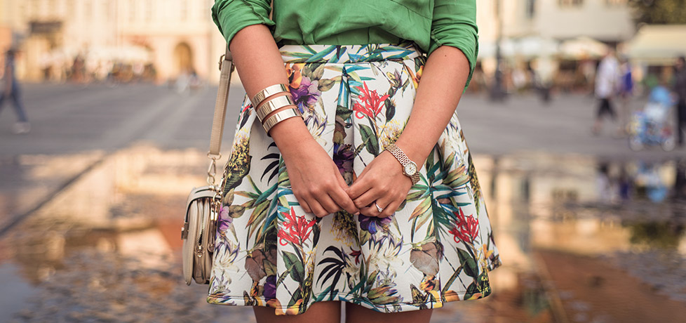 Iulia Andrei Fashion Blog - Chasing Summer with a Tropical Print at Be Creative 3, Sibiu 2014