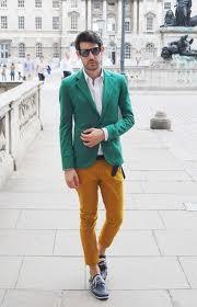 pantaloni colorati barbati