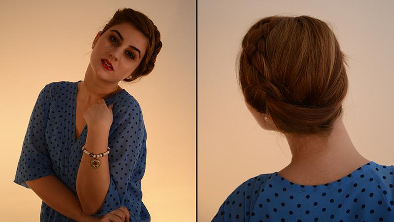 Iulia Andrei Side Braiding tutorial