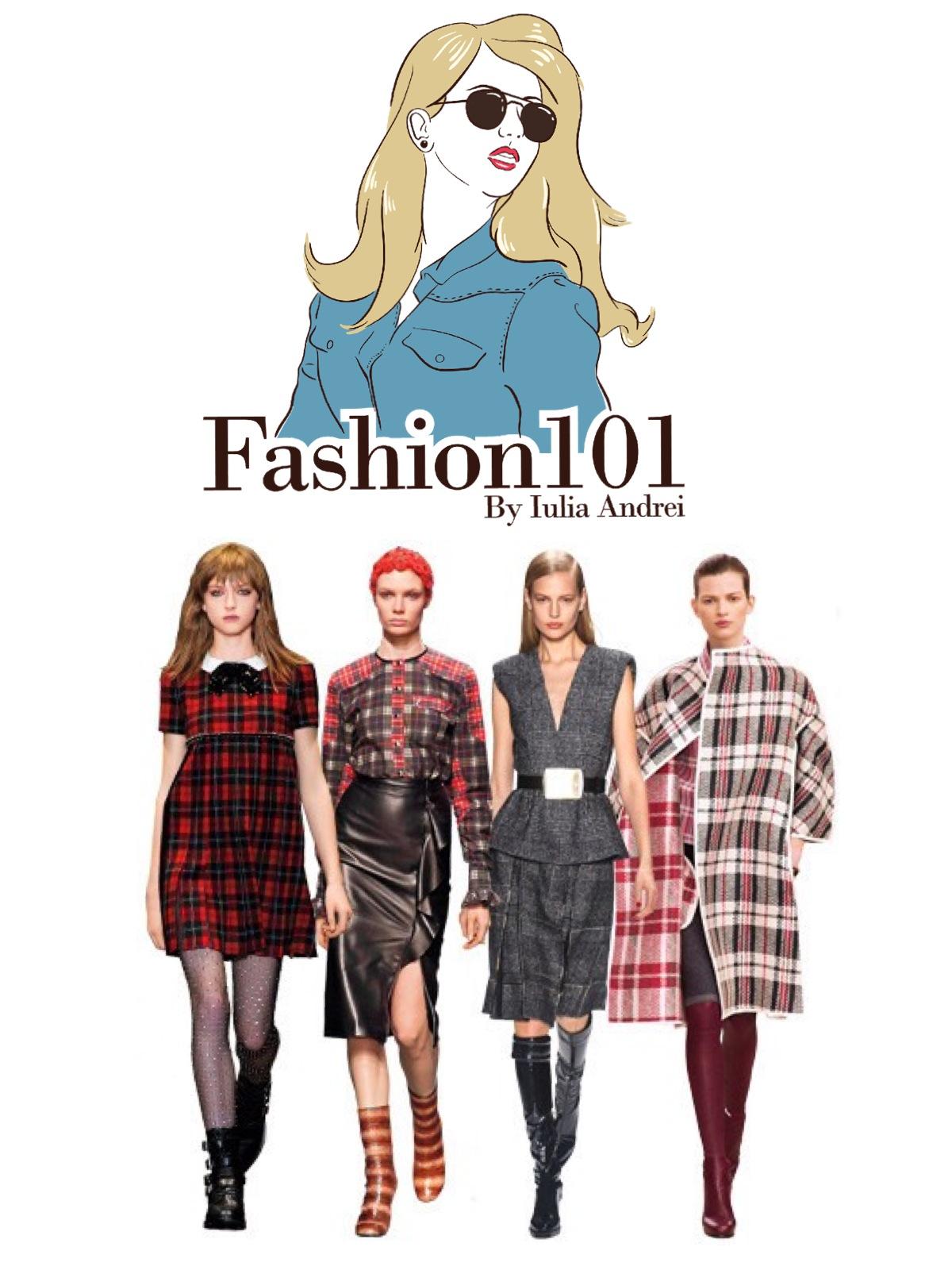 cum purtam hainele in carouri tinute in carouri Iulia Andrei Fashion Blog