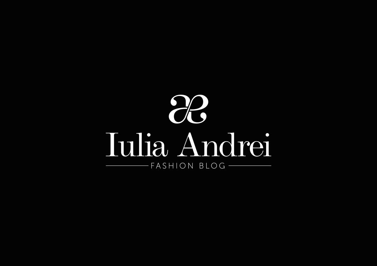 logo iulia andrei fashion blog restilizat