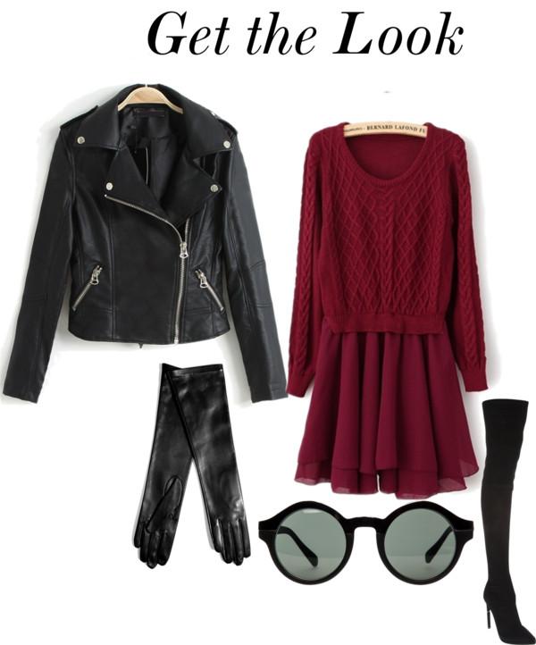 tinuta rochie geaca din piele iulia andrei fashion blog