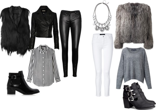 Cum purtam articolele din blana la  tinutele casual iulia andrei fashion blog