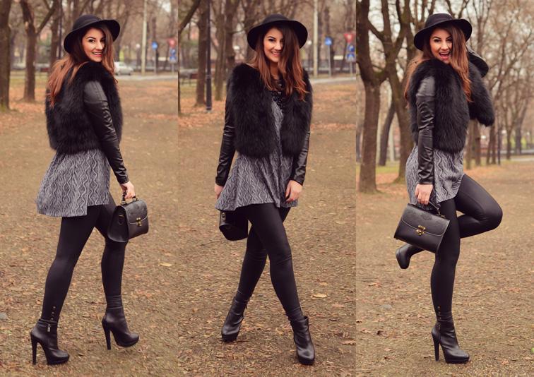 tinuta geaca iulia andrei fashion blog