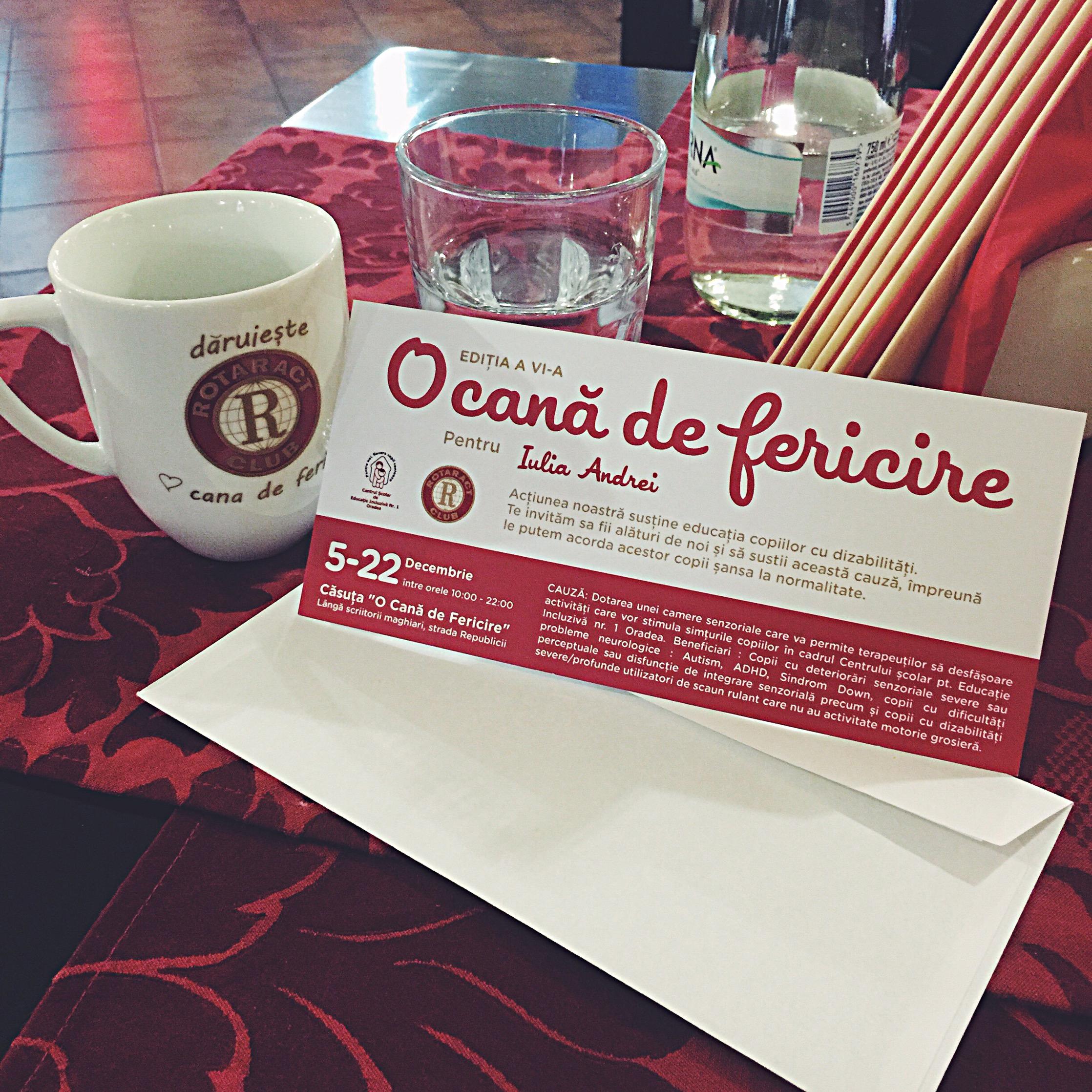 Daruieste o cana de fericire pentru copiii cu dizabilitati Iulia Andrei Fashion Blog si Rotaract Club Oradea