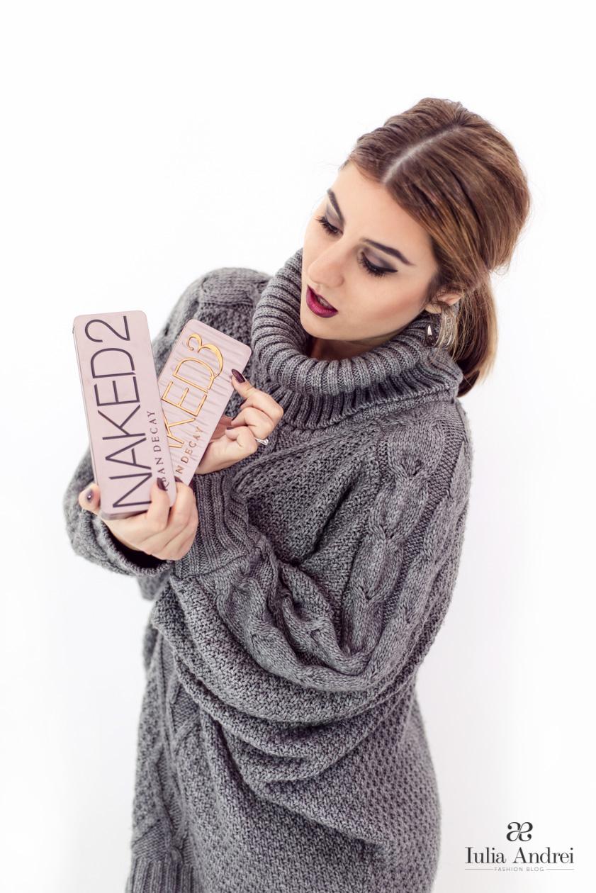 Urban Decay Naked 2 Naked 3 Make Up Review Iulia Andrei Fashion Blog