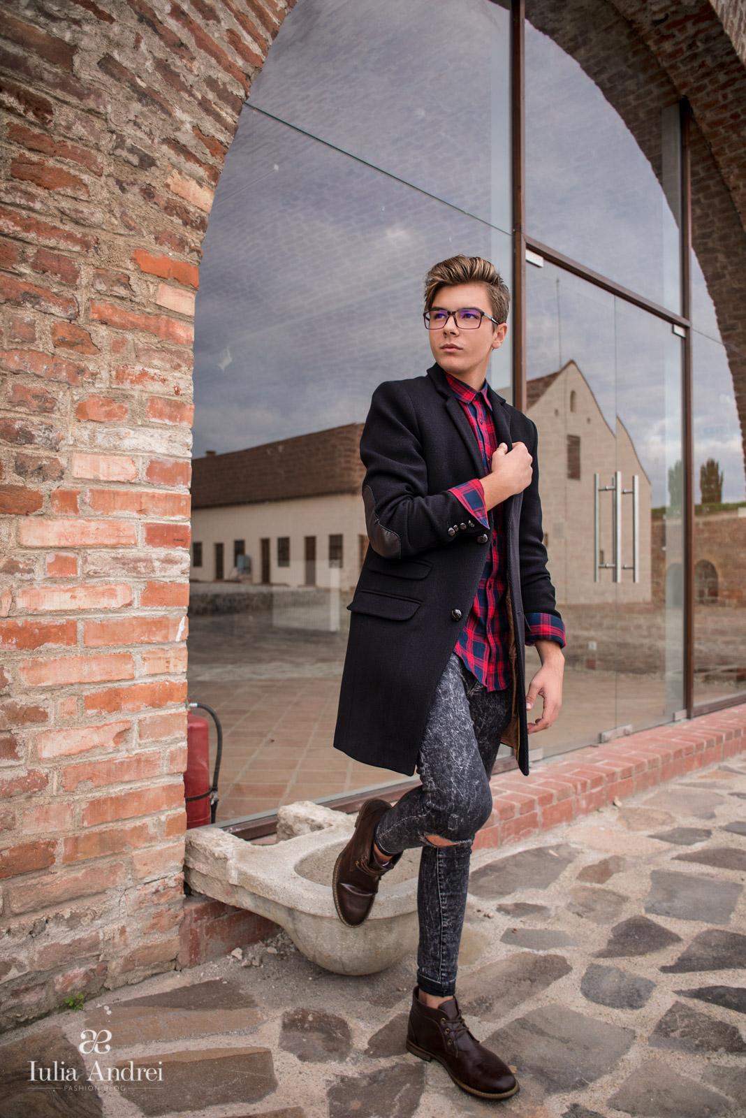Palton de barbati pentru noul sezon - Catalin Maior - Colaborare Iulia Andrei