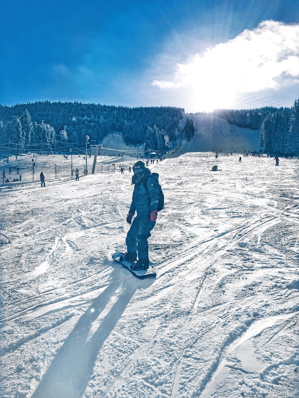 Prima oara cu snowboard-ul