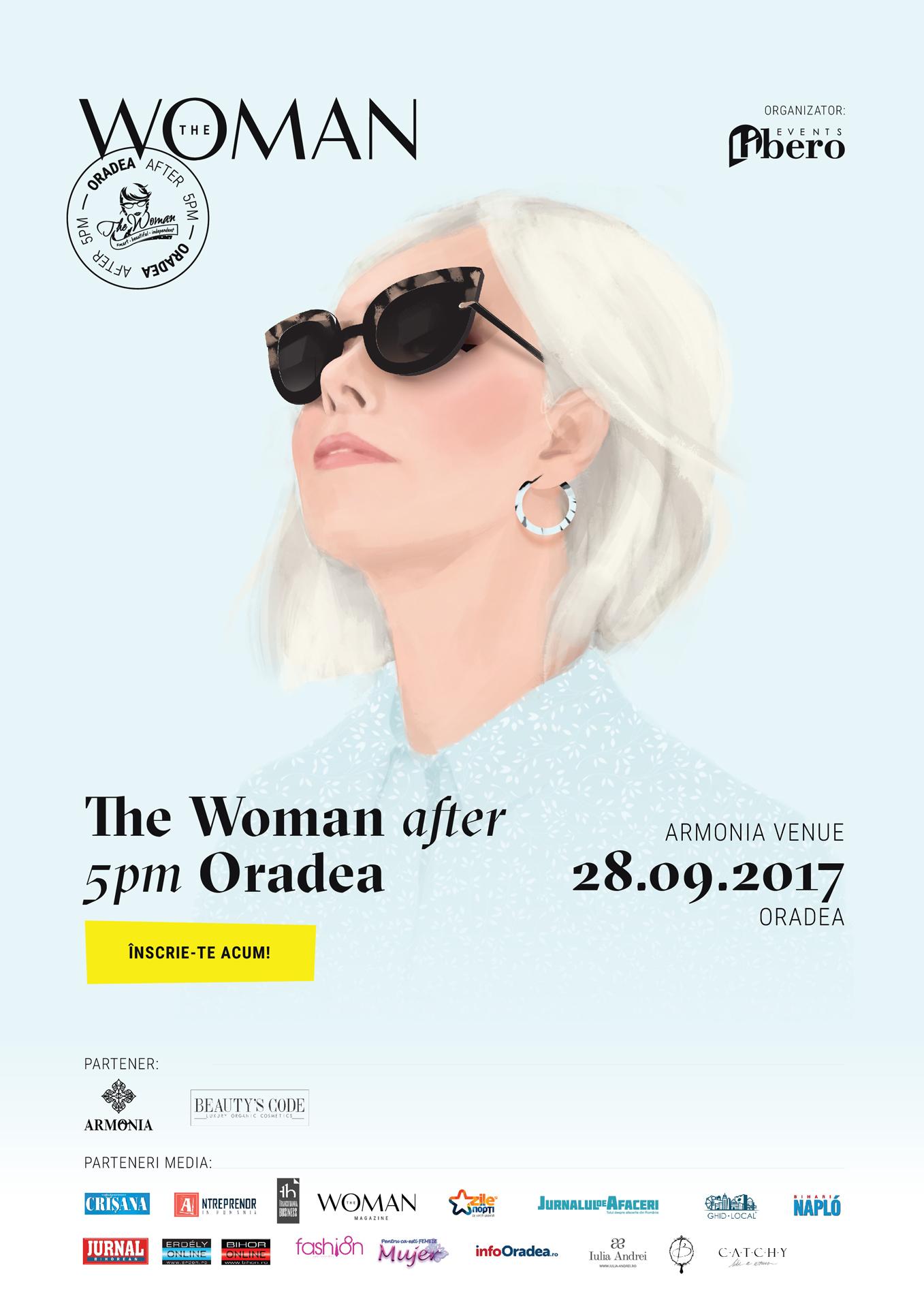 The Woman vine la Oradea - conferinta pentru femei