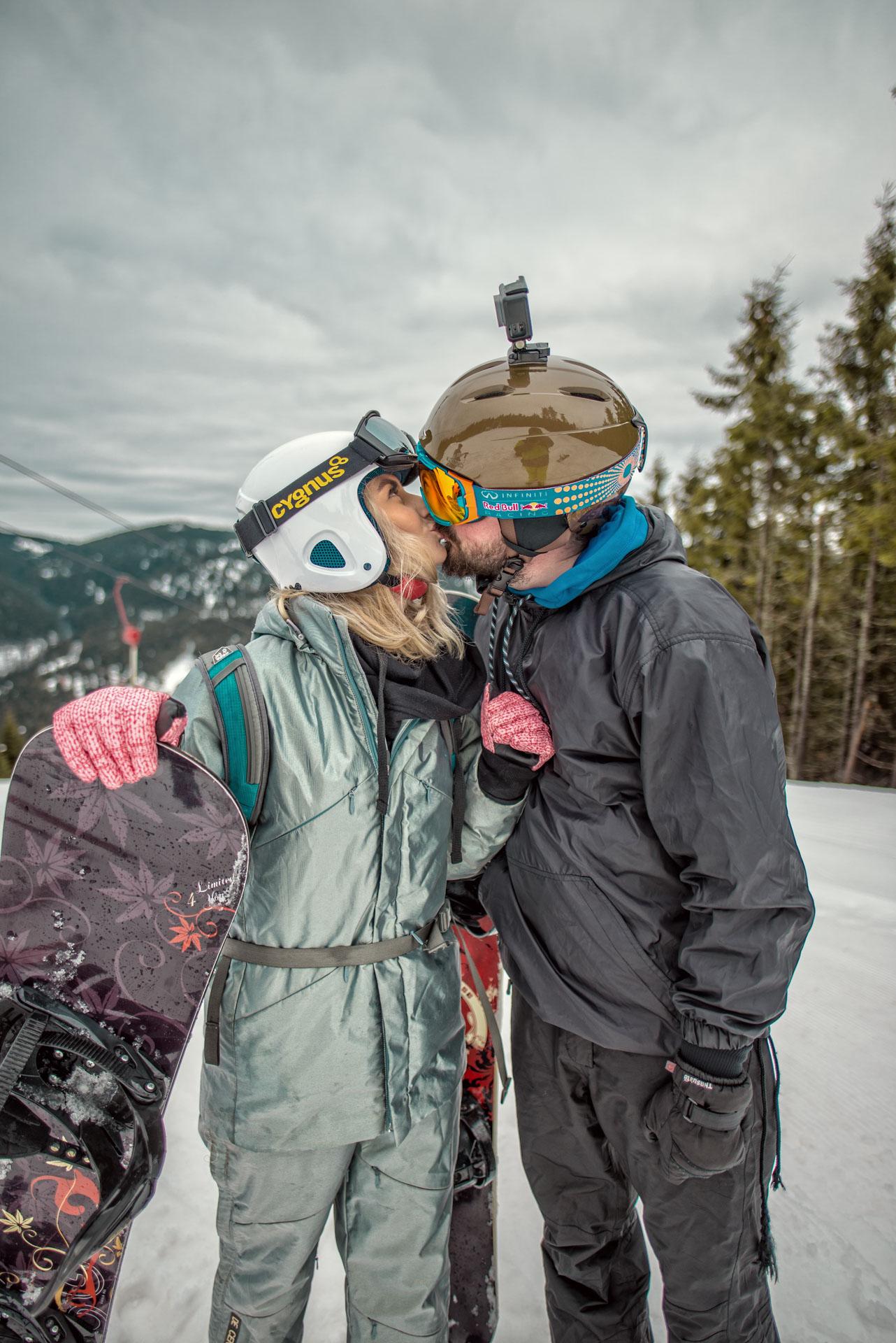 Ne-am apucat de SPORT, prima oara la SNOWBOARDING