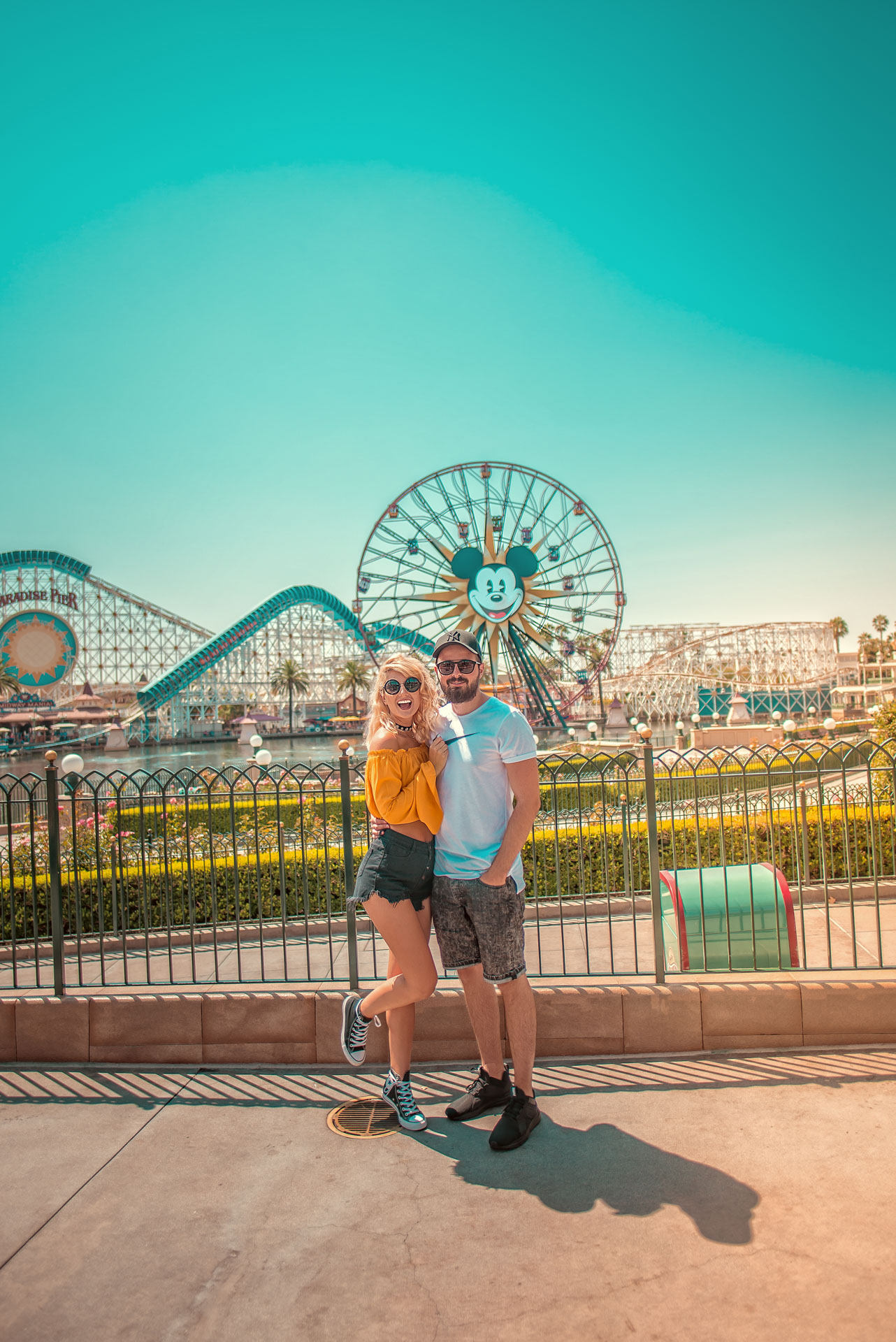DISNEYLAND, happiest place on Earth!