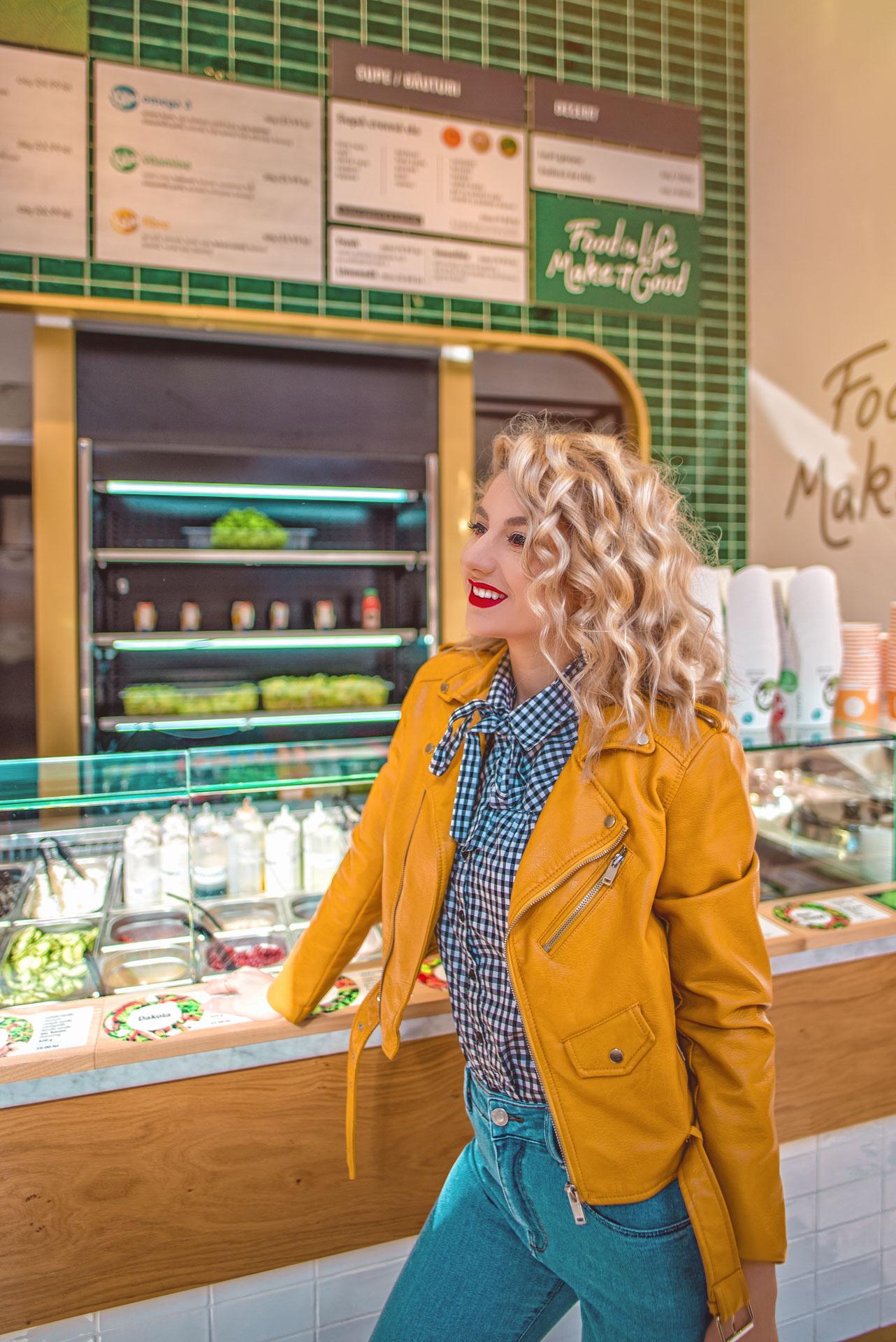 Unde mananc sanatos si gustos? - Salad Box Oradea Republicii
