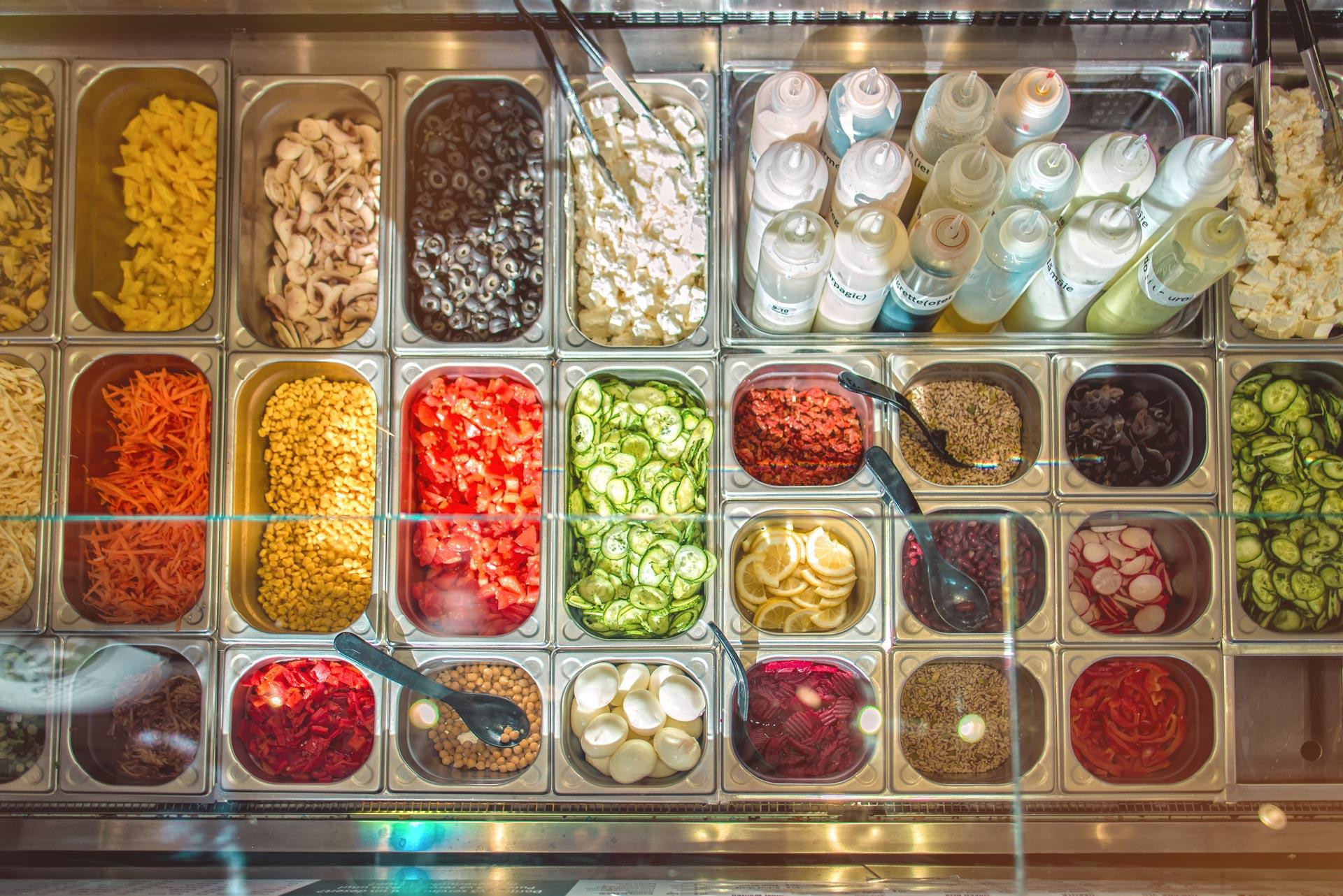 Ingrediente Proaspete la Salad Box Oradea Republicii