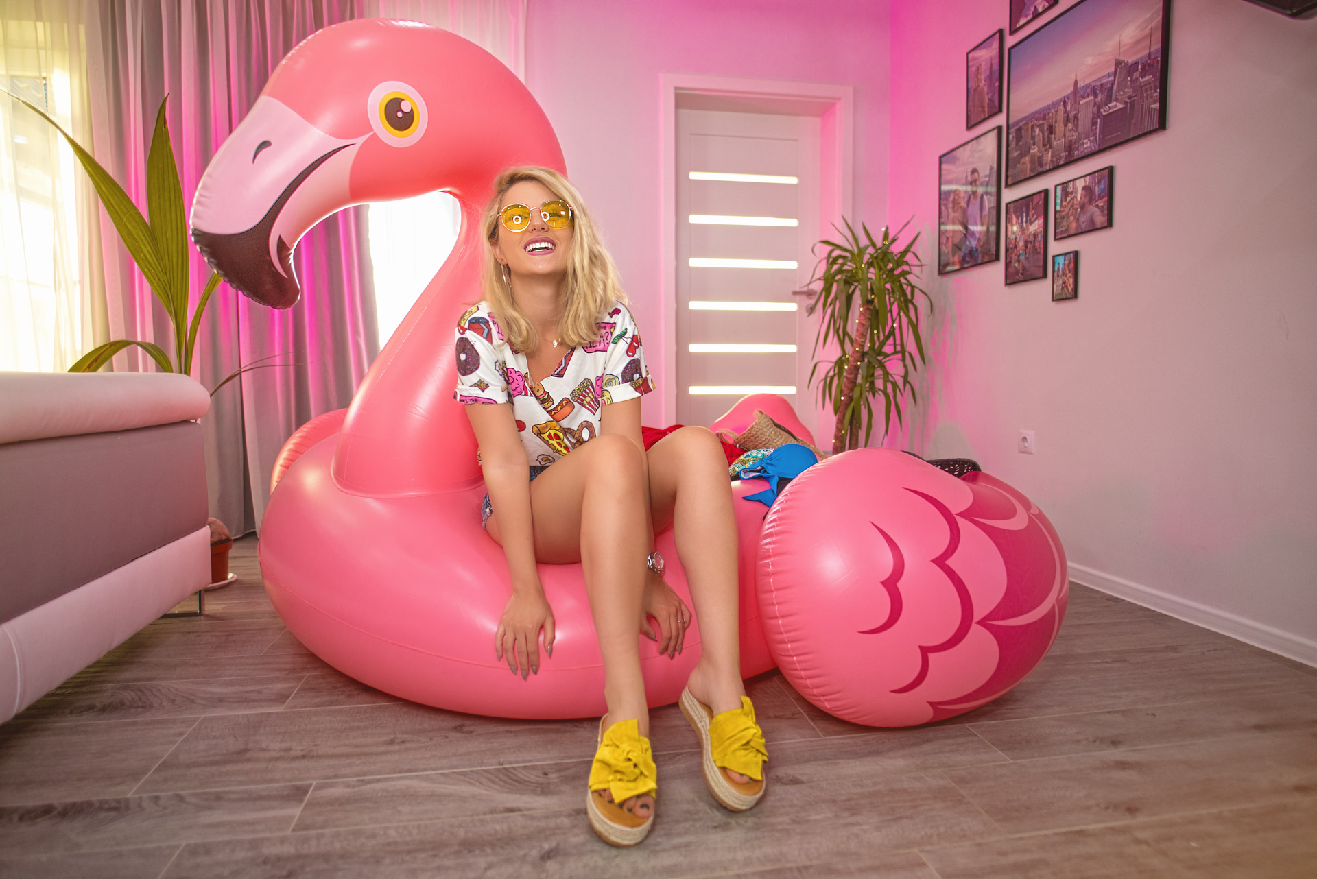 Ce iau cu mine in VACANTA + huge flamingo GIVEAWAY