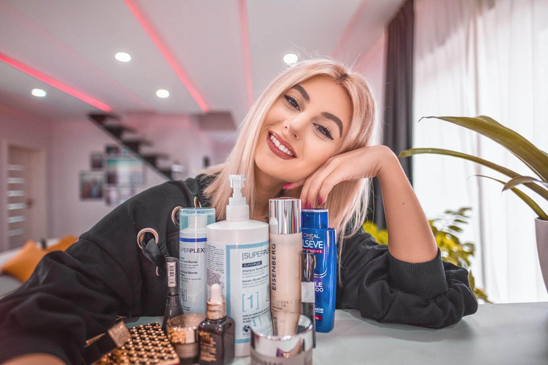 Produse de makeup si ingrijire Iulia Andrei