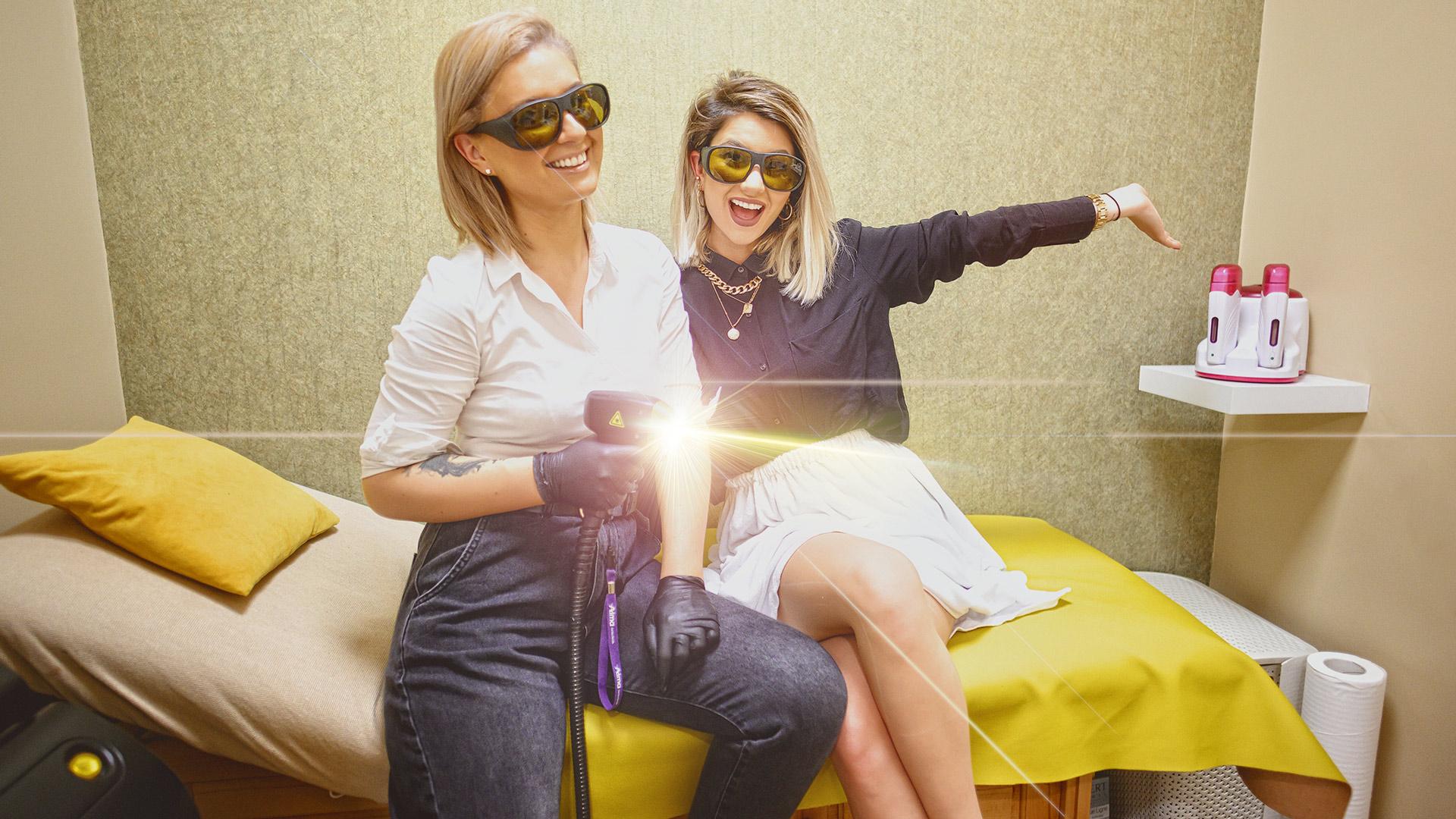Epilare Definitiva laser la salonul Charm Beauty din Oradea